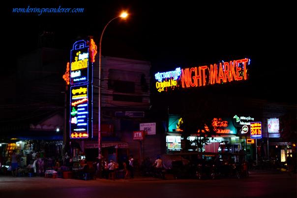 Angkor Night Market Stores