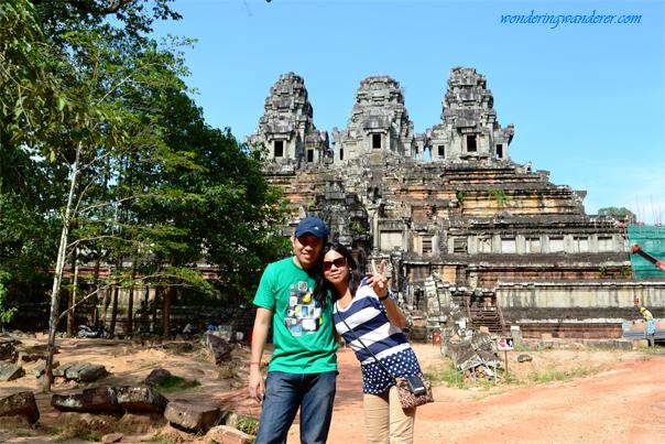 Couple at Ta Keo Temple