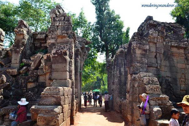 Ta Prohm's entrance - Siem Reap, Cambodia