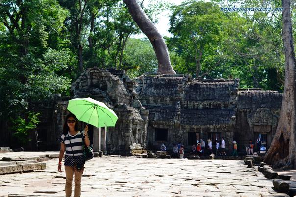 Tourists of Ta Prohm - Siem Reap, Cambodia