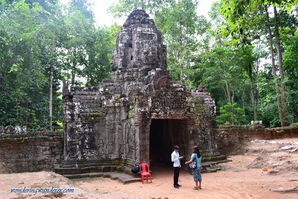 Ta Som Temple's Majestic Entrance