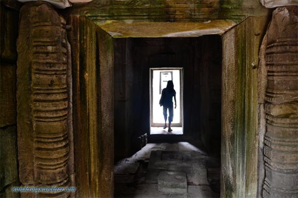 Hallway at Ta Som Temple - Siem Reap