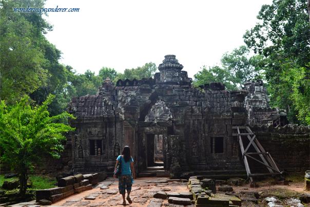 Ancient ruin of Ta Som Temple - Siem Reap