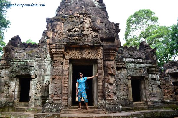 Facade of Ta Som Temple - Siem Reap, Cambodia