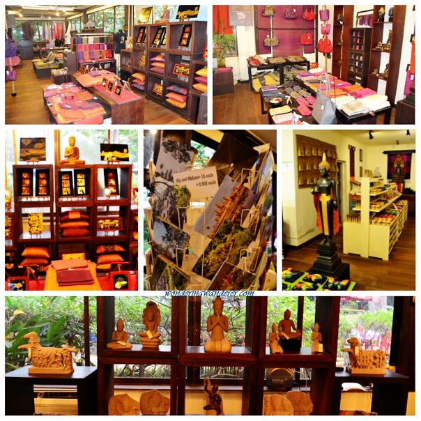 Angkor Café's souvenir shop - Siem Reap