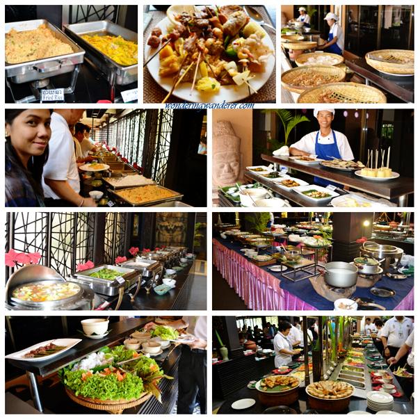 The main dishes of Tonle Chaktomuk - Siem Reap