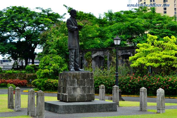 Dr. Jose Rizal Statue at Fort Santiago