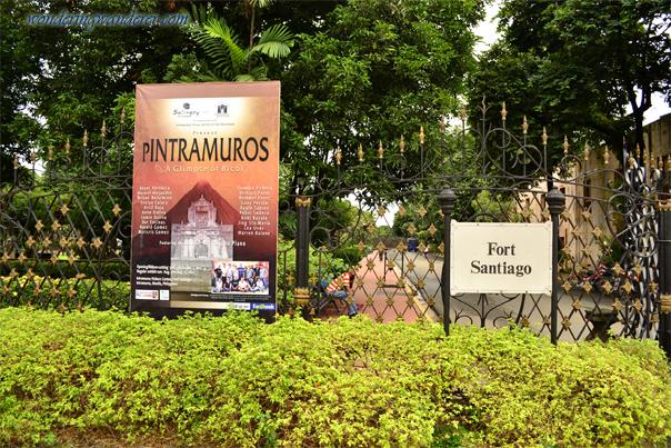 Fort Santiago Entrance - Fee: 100.00