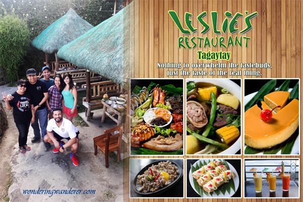 Leslie's Restaurant - Tagaytay City, Cavite - Philippines