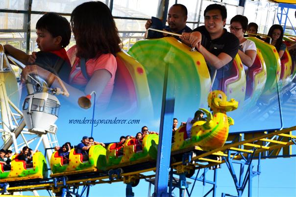 Nessi Coaster at Sky fun Amusement Park - Sky ranch