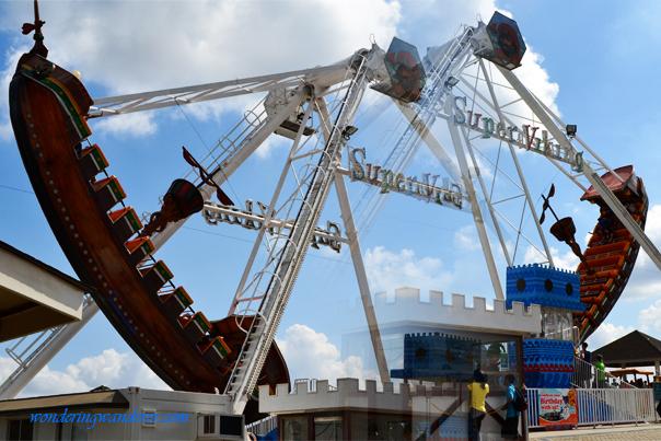 Super Viking - Sky fun Amusement Park - Sky ranch - Tagaytay City