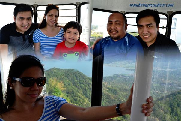 Inside the Sky Eye - Sky fun Amusement Park - Sky ranch - Tagaytay City, Cavite