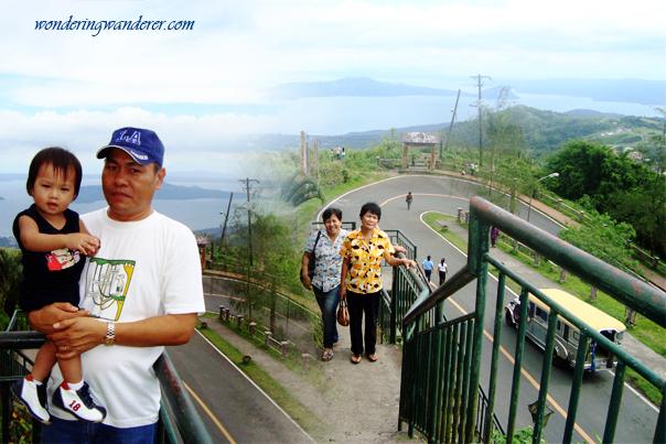 People's Park in the Sky steep road