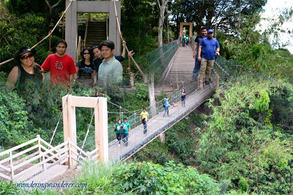 Hanging Bridge of Eco-trail - Picnic Grove - Tagaytay City, Cavite