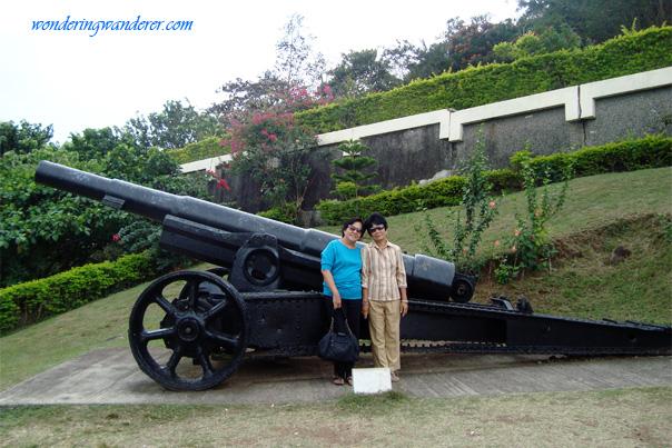 World War II Canon at Mount Samat National Shrine - Pilar, Bataan