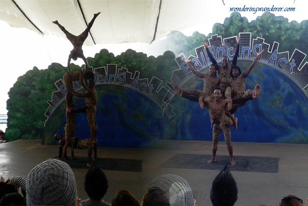 Acrobatic Exhibitions - Ocean Adventure Subic Bay