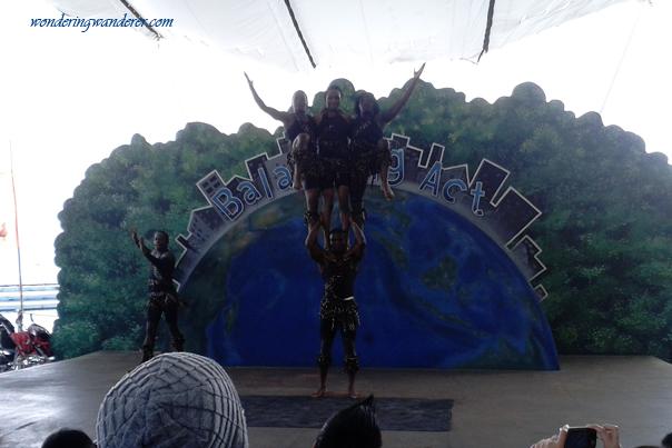 Fantastic Balancing Acts - Ocean Adventure Subic Bay