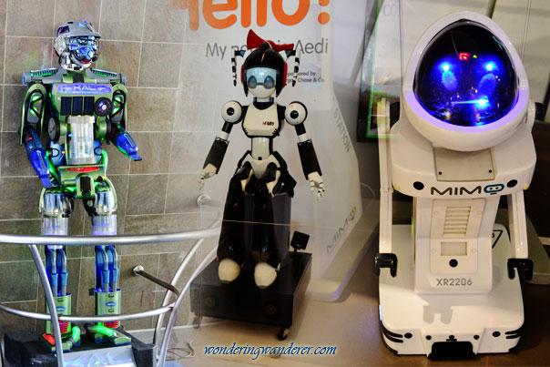 Robotics exhibit
