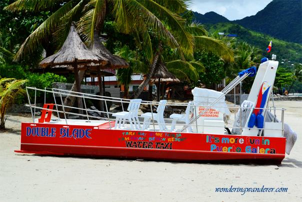Water Taxi - Puerto Galera