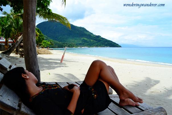Relaxing at Aninuan Beach - Puerto Galera
