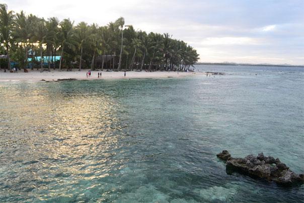 Cloud 9 white-sand beach - Siargao