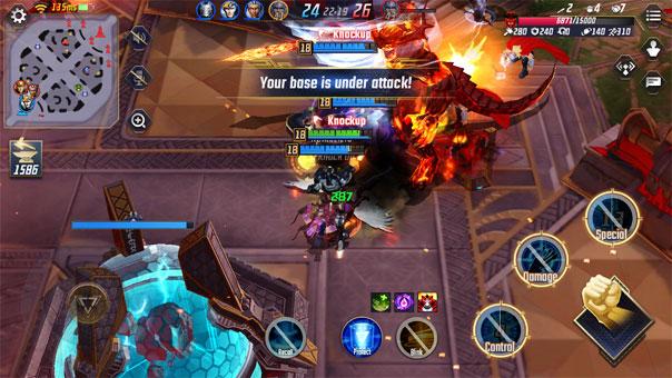 Marvel Super War's gameplay - Netease
