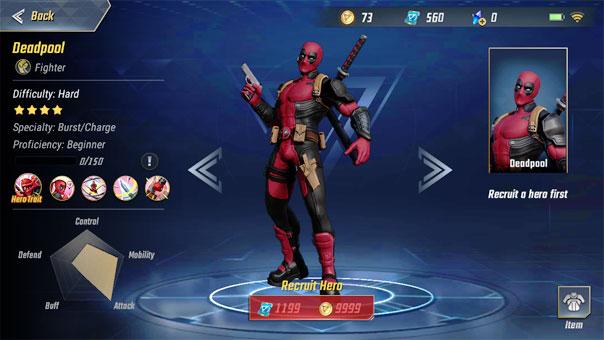 Marvel Super War: Deadpool