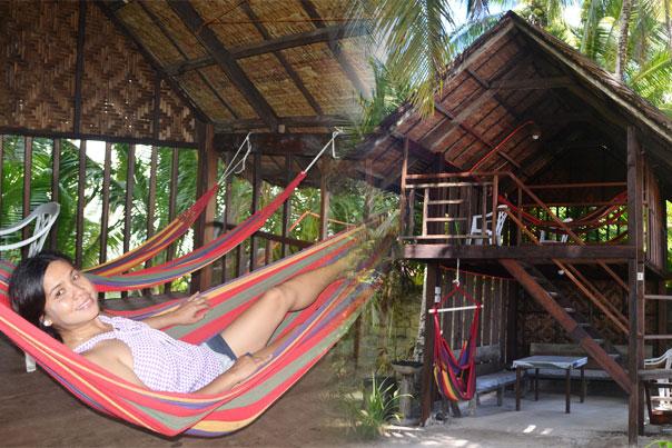 Relaxing spot at eddie's beach resort