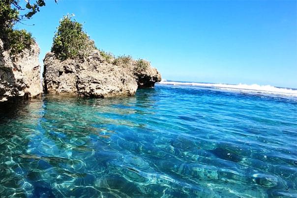 Magpupungko Beach & Rock Formations - Siargao, Philippines