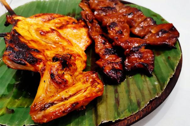 Chicken Inasal and Pork Barbeque of Masskara Chicken Inasal