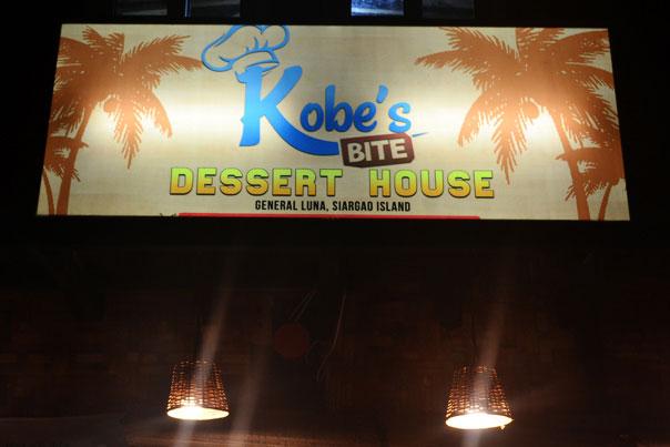 Where to Eat in Siargao? Kobe's Bite Dessert House