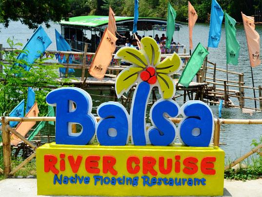Balsa River Cruise: Native Floating Restaurant - Ilog, Negros Occidental