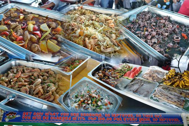 Balsa River Cruise: Native Floating Restaurant Food