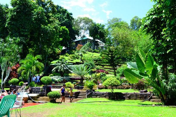 Beautiful Terrace Garden of Buenos Aires Mountain Resort