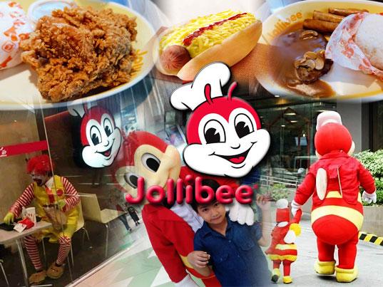 Jollibee collage