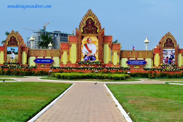 King Norodom Sihamoni - Phnom Penh