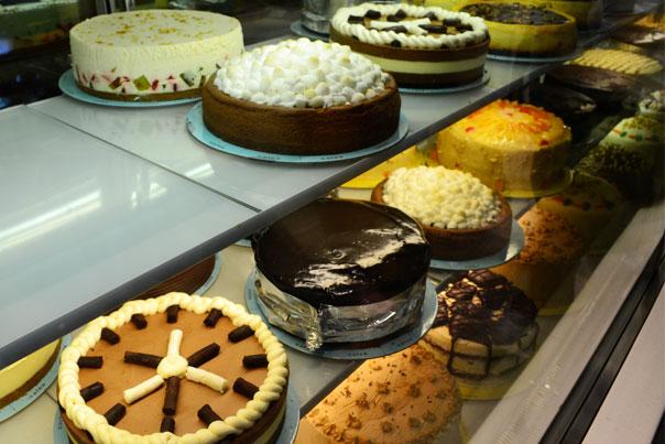 Calea Pastries & Coffee best-selling chocolate cake