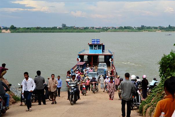 Ferry to Koh Dach island