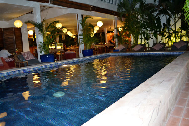 pool of TeaHouse Asian Urban Hotel - Phnom Penh