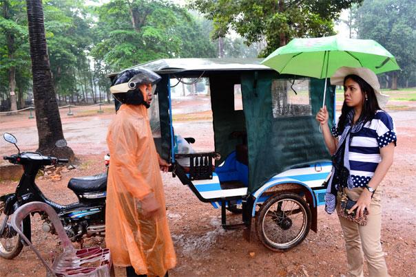Tuk-tuk in Siem Reap, Cambodia