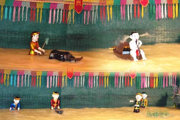 Water Puppet Show - Saigon