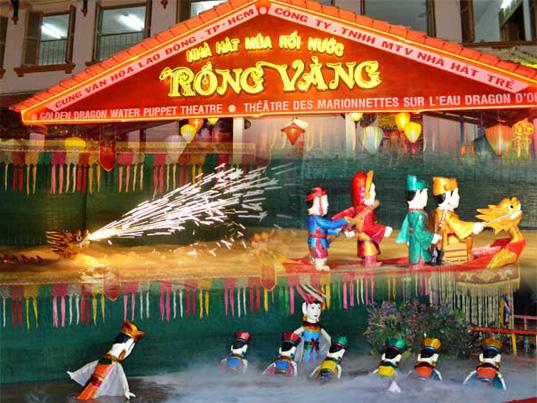 Golden Dragon Water Puppet Theater - Ho Chi Minh, Vietnam