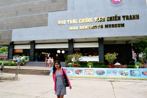 War Remnants Museum Entrance