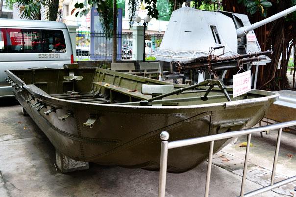 Armed boat